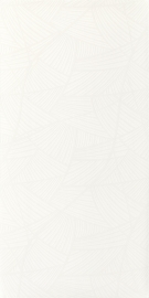 Adilio Bianco Ściana Rekt. Fan  - Biały - 295x595 - Płytki ścienne - Adilio / Rivo