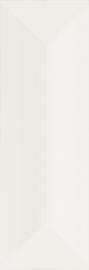 Favaro Bianco Ściana Struktura Połysk  - Biały - 098x298 - Wandfliesen - Favaro