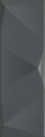 Tenone Grafit Ściana Struktura A 9,8X29,8 G1 - Szary - 098x298 - Płytki ścienne - Tenone