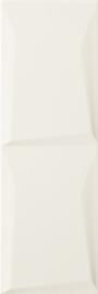 Maloli Bianco Ściana B Struktura  - Biały - 200x600 - Wandfliesen - Maloli