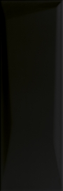 Maloli Nero Ściana A Struktura  - Czarny - 200x600 - Wandfliesen - Maloli