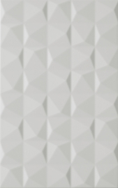 Melby Grys Ściana Struktura   - Szary - 250x400 - Wall tiles - Melby / Elbo