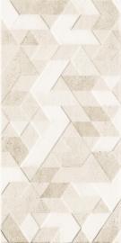 Emilly Beige ściana Struktura Dekor  - Beżowy - 300x600 - Płytki ścienne - Emilly / Milio
