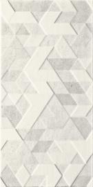 Emilly Grys Ściana Struktura Dekor  - Szary - 300x600 - Wandfliesen - Emilly / Milio