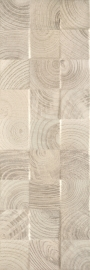 Daikiri Beige Ściana Wood Kostki Struktura Rekt.   - Beżowy - 250x750 - настенная плитка - Daikiri