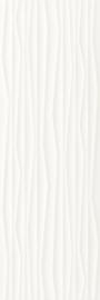 Elanda Bianco Ściana Struktura Rekt.  - Biały - 250x750 - Wandfliesen - Elanda / Elando