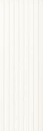 Elanda Bianco Ściana Struktura Rekt. Stripes  - Biały - 250x750 - Wandfliesen - Elanda / Elando