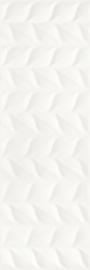 Elia Bianco Ściana A Struktura Rekt.  - Biały - 250x750 - Obklad - Elia