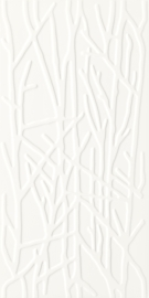 Adilio Bianco ściana Struktura Rekt. Tree  - Biały - 295x595 - Płytki ścienne - Adilio / Rivo