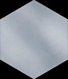 Uniwersalny Hexagon Lustro  - Wielokolorowe - 198x171 - декорации - Uniwersalne inserta szklane