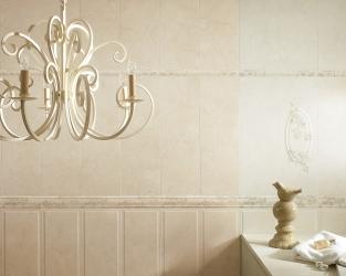 Romantyczna, jasna łazienka BELAT