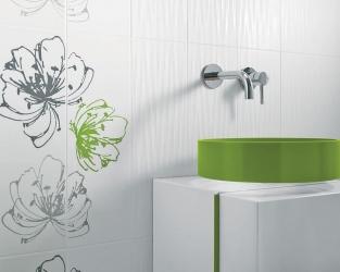 Wiosenna zieleń w łazience