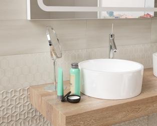 Jasna łazienka w stylu skandynawskim