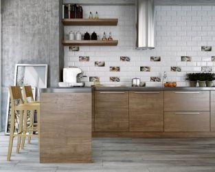 Tradycja i nowoczesność w kuchni, w domku za miastem