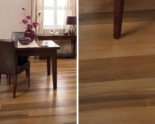Ponadczasowa elegancja szlachetnego drewna w salonie