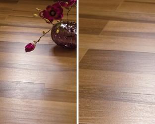 Subtelna elegancja ceramicznego drewna w klasycznym salonie