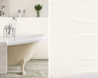Romantyzm uwspółcześniony w białej łazience