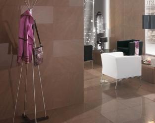 Czekoladowy brąz w eleganckim, minimalistycznym wnętrzu
