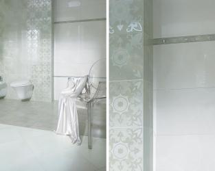 Lustrzany blask łazienki w stylu glamour
