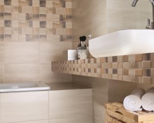 Delikatne odcienie natury w łazience