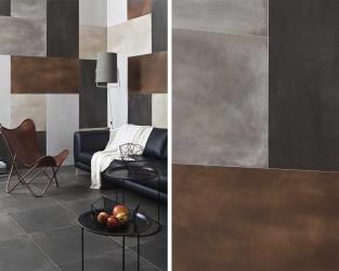 Ceramika, metal i skóra w minimalistycznym lofcie