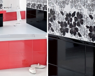 Siła kontrastów barwnych w nowoczesnej łazience