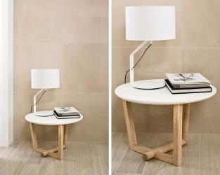 Stonowane beże w minimalistycznym salonie