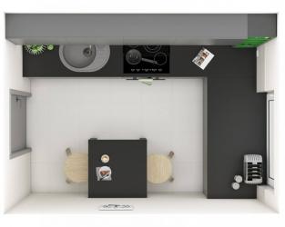 Elegancja w minimalistycznej kuchni