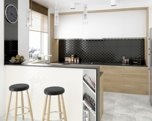 Nowoczesna prostota w kuchni