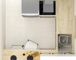 Przyjazny układ nowoczesnej kuchni