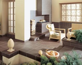 aranzacja-klasycznego-tarasu-natural-brown-ceramika-paradyz
