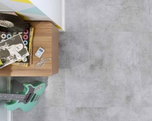 Nowoczesna podłoga inspirowana betonem