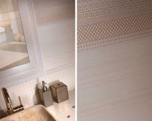 Koronkowa precyzja ceramicznych dekoracji w tradycyjnej łazience