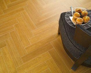 Miodowe ciepło ceramicznego parkietu
