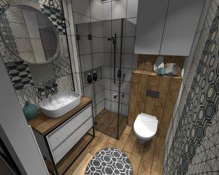 Prosty sposób na małą łazienkę