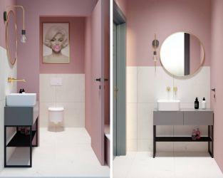 Kobieca toaleta w gabinecie kosmetycznym