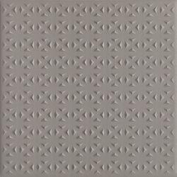 Bazo Grys Gres Monokolor Gr.13mm Struktura - Szary - 198x198 - Płytki podłogowe - Bazo