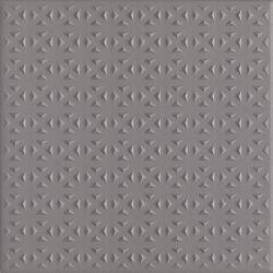 Bazo Nero Gres Monokolor Gr.13mm Struktura - Czarny - 198x198 - Płytki podłogowe - Bazo