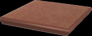 Cotto Naturale Kapinos Stopnica Narożna  - Brązowy - 330x330 - Płytki podłogowe - Cotto