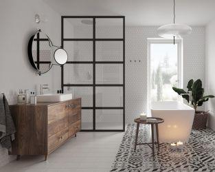 Projekt wyjątkowej łazienki w stylu retro