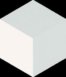Esagon Cube Grey Ściana - Wielokolorowe - 198x171 - Wandfliesen - Esagon
