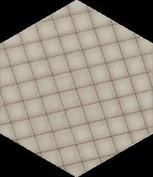 Esagon Linum Beige Inserto A  - Beżowy - 198x171 - Decorations - Esagon