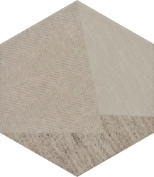 Esagon Linum Beige Inserto C  - Beżowy - 198x171 - Dekorationen - Esagon