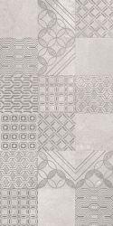 Harmony Grys Ściana Patchwork - Szary - 300x600 - Płytki ścienne - Harmony