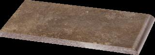 Ilario Brown Parapet - Brązowy - 200x100 - Elevation tiles - Ilario
