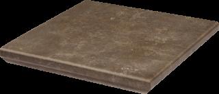 Ilario Brown Kapinos Stopnica Narożna - Brązowy - 330x330 - отделочные элементы - Ilario