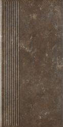 Ilario Brown Stopnica Prosta - Brązowy - 300x600 - Finishing elements - Ilario