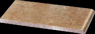 Ilario Ochra Parapet - Brązowy - 200x100 - Elevation tiles - Ilario