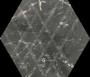 Marvelstone Grey Heksagon Gres Szkl. Mat. - Wielokolorowe - 198x171 - Floor tiles - Marvelstone