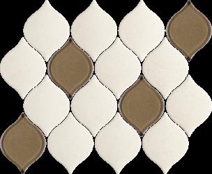 Mistysand Crema Mozaika Prasowana Arabeska Mix - Beżowy - 265x202 - Dekorationen - Mistysand / Mistico